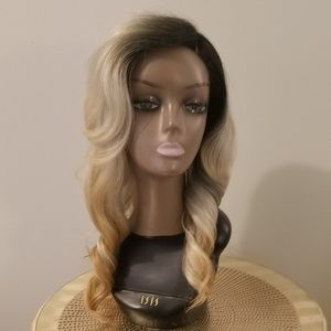 Accessories - Grey Brown Curly Wig